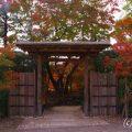 相楽園庭園入り口