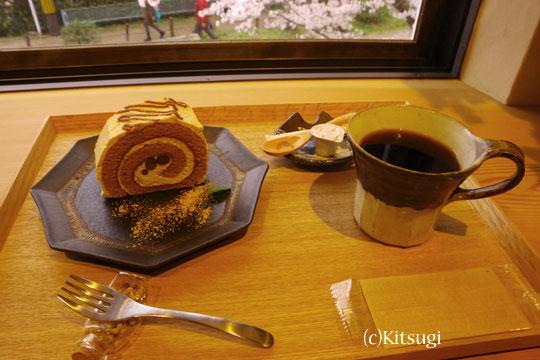 哲学の道カフェケーキセット
